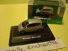 MINIATURE MODELISME FERROVIAIRE MERCEDES BENZ A 200 1/87 HO WELLY 5 CM DE LONG