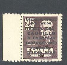 1951 VISITA DEL CAUDILLO A CANARIAS AEREO EDIFIL 1090 ** MNH LUJO   TC10029