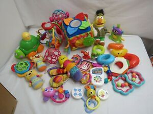 LARGE LOT OF BABY INFANT TOYS EDUCATION TOYS LEARNING GREAT NAMES