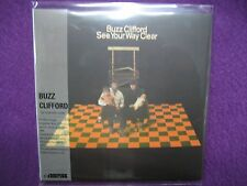 BUZZ CLIFFORD / SEE YOUR WAY CLEAR   MINI LP CD NEW Daniel Moore