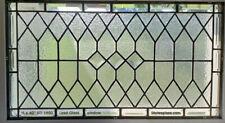 """Elegant Stained Glass  Window Transom 16"""" x 40"""""""