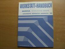 Karosserie Werkstatthandbuch Honda Civic / Civic Coupe 1999