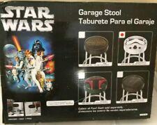 Storm Trooper Plasticolor Star Wars Bar Stool Garage Seat Chair Game Room Shop