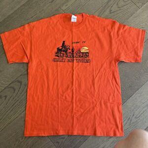 VINTAGE 2002 Jimmy Eat World Escape to Concert Tour Rock Band T-shirt Mens XL