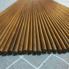 "Archery 33"" Bamboo Arrow Shaft 20-25# No Nock for Beginner or Child-12pcs"