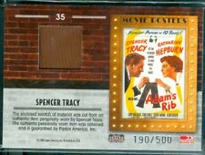 Americana 2009 ( # 35 ) Spencer Tracy Swatch Card [ 190/500 ]