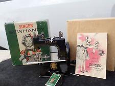 Vintage Singer Sewhandy No.20 Hand Crank Sewing Machine 1953 Toy Sewing Machine