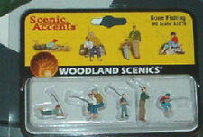 Ho People Fishing set Woodland scenics Scenic Accents A1878 1878 figures