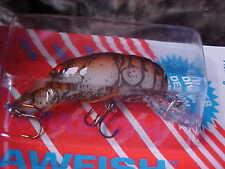 Rebel Ultra Lite Size Crawfish Lure for Bass/Panfish F7735 in Cajun Crawdad