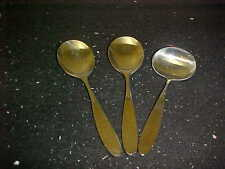 Towle Lauffer Stainless Magnum Japan Tablespoons (2) & Gravy Ladle