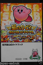 Kirby Super Star Ultra Nintendo Official Guide Book oop