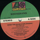 BOOMERANG When The Phone Stops Ringing (1986 U.S. Double Side A Promo 12inch)