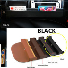 Car Seat Crevice Storage Box  Organizer Gap Pocket For Phone Card Cigarette 1X