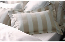 Pair of Sheridan Smythson 1000TC Cotton Standard Pillow Cases in Chalk RRP $129