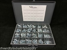Metric J.I.S. Flange Nut & Bolt Screw Assortment Kit M6, M8 M10 Small Head Kit