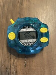 Digimon Adventures Digivice (Bandai, 1999) Turquoise/Blue - Tested and Working