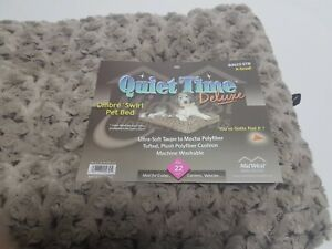 MidWest Quiet Time Pet Bed Deluxe Ombre Swirl dog / cat pet carrier bed