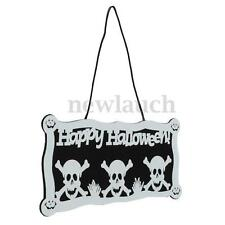 Articles de fête blanche sans marque pour la maison Halloween