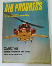 JAN 1965 MAGAZINE- AIR PROGRESS- FIGHTER PILOT ACES, DRONES, XB-70A JET,