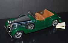 Franklin Mint 1938 Alvis 4.3 liter Car 1/24 Green , Sliver