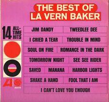 "LAVERN BAKER ""THE BEST OF"" RHYTHM & BLUES SOUL 60'S LP ATLANTIC 8078"