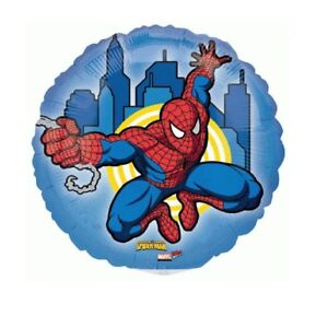 Balloons Marvel Spiderman Mini Shape 9 Inch Balloon (QTY 3) By Broward Balloons