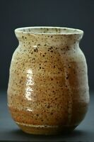 Handcrafted Studio Art Pottery Vase Planter Signed by Artist Gerry Mac