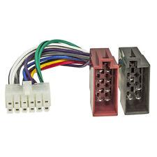 Autoradio Anschlußkabel für Pioneer Radios 12 polig 27x10mm ISO Stecker Buchse