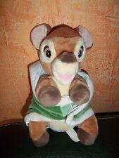 Doudou Disney Bambi Dans Sa Couverture Verte