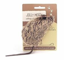 Jolly Moggy Catnip Play Mouse Assorted Large X 3 Pcs Accessories Cat