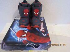 SPIDER-MAN ULTIMATE  CW TODDLER LIGHTED BOOT Sz 6 NIB $49.99