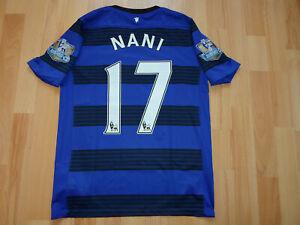 Manchester United 2011 2013 #17 NANI Nike Away Shirt Jersey AON Football 13y
