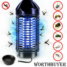 Electric Mosquito Killer Lamp Outdoor Indoor Fly Bug Insect Zapper Trap