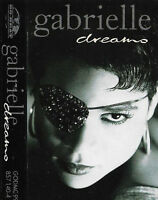 Gabrielle ‎Dreams CASSETTE SINGLE Electronic Pop Euro-Pop Go! Beat ‎
