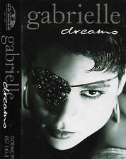 Gabrielle Dreams CASSETTE SINGLE Electronic Pop Euro-Pop Go! Beat 