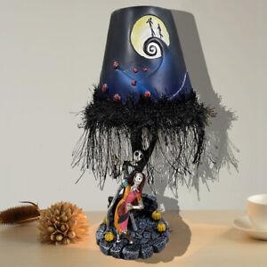 The Nightmare Before Christmas Moonlight Table Lamp LED Jack Lantern Home Decor