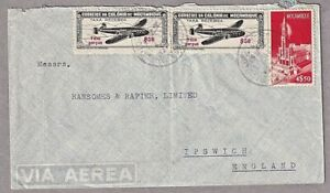 Air Mail Cover Lourenco Marques Maputo Mozambique To UK 1948