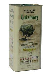 Latzimas Natives Olivenöl Extra aus Kreta 5L