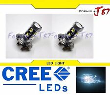 CREE LED 50W H7 WHITE 6000K TWO BULB HEAD LIGHT FOG REPLACE OFF ROAD SHOW COLOR