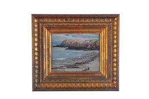 A. J. Hammond (1875 -1947) Cape Ann Massachusetts-Seascape Oil Painting
