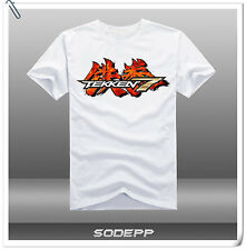 PS4 Tekken 7  / Classic / Mishima Corp Logo short sleeves cotton T-shirt