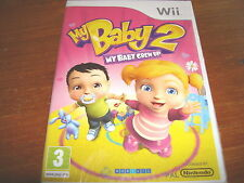 MY BABY 2 -  MY BABY GREW UP  ** NEW & SEALED **  Nintendo Wii Game