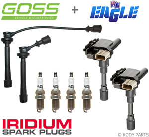 IGNITION LEADS, COILS & IRIDIUM PLUGS - for Suzuki Jimny 1.3L M13A SN413 2000-05
