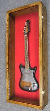 Guitar display case Solid hardwood with Locks
