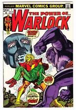 THE POWER OF WARLOCK #7 - 1973 Marvel - Roy Thomas & Bob Brown - Very Fine