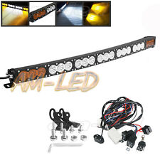 37'' Amber/White Stroboflash Offroad Truck Boat SUV 4WD for Ford JEEP Wrangler
