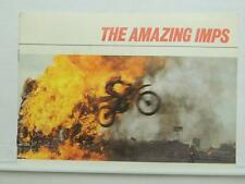 Vintage The Amazing Imps Brochure Motorcycle Honda Red Bullet ATC110 Z50R L10125