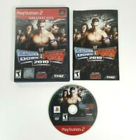 COMPLETE - WWE SmackDown vs RAW 2010 - Sony Playstation 2 PS2 - Wrestling