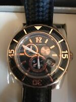 Morphic Men's M51 Series Swiss Quartz Stainless Steel and Leather Watch