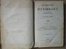MAGASIN PITTORESQUE, 1841 : Egypte Syrie Turquie, Albert Dürer, voyages...)